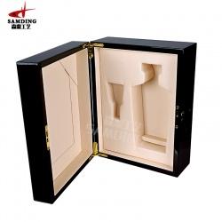 木制酒盒,木制酒盒定做,木制酒盒销售-森鼎工艺(图)
